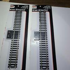 Lot of two 2 Atlas Item #840 Terminal Section. Ho Code 100 Snap - Track.