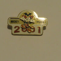 Disney Mickey Mouse 2001 pin
