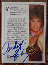 CANDY LOVING 1992 STAR PICS CERTIFIED AUTO AUTOGRAPHED SIGNED CARD PLAYBOY RARE!
