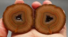 A Pair Rough(Unpolished) Agate/Achat Nodule Specimen Xuanhua Hebei China  XH-086