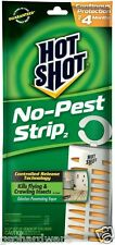 12 PACK Hot Shot 5580 NO-PEST STRIP Insect Bug Strip NEW!! -