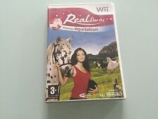 real stories mission equitation sur nintendo wii