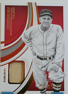 2021 Immaculate - Joe McCarthy - Patch Relic Jersey /49 - Red Sox