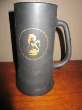 Black Frosted Playboy Club Beer Stein