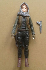 "STAR WARS: ROGUE ONE - JYN ERSO (JEDHA)  3.75"" Figure (Hasbro 2016)  New / Loose"