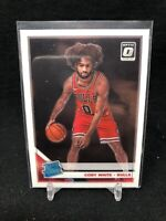 COBY WHITE ROOKIE  2019-20 DONRUSS OPTIC RATED ROOKIE  CHICAGO BULLS ROOKIE A87
