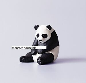 Japan Sitting Sleeping Panda Animal PVC Figure Figurine