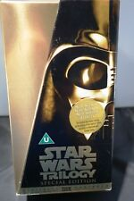 Star Wars Trilogy Gold  Special Edition Box Set 3 Videos George Lucas   Cert U