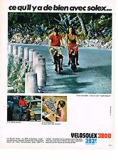 PUBLICITE  1968    VELOSOLEX   il est increvable