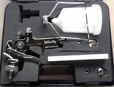 NEW GRAVITY SPRAYGUN KIT INCL.3 TIPS - 1.4 1.8 & 2.5mm + BONUS STAND! SPRAY GUN