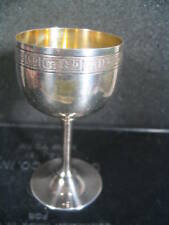 """.950 Silver Oriental FOOTED CORDIAL GLASS 3 1/2"""""""