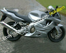 For Honda CBR600 F4 1999 2000 CBR600F4 99 00 Silver Grey Motorycle Fairing Kits