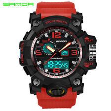 Men's Military Fashion Sport Digital Quartz Big Face Date Wrist Analog Watch US
