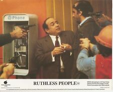 Ruthless People - FOH / Front Of House Still / Lobby Card x 4 - Bette Midler