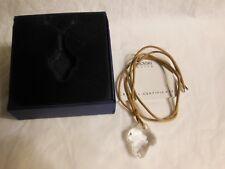 Swarovski clear cross pendant necklace New in box