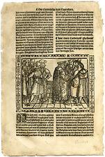 Rare Antique Print-ATRECHT-CONGRESS OF ARRAS IN 1435-Doppere-Vorsterman-1531