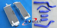 Aluminum Radiator & hose for HONDA CR500 CR500R 1991-2001 91 92 93 94 95 00 01