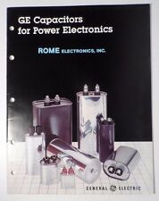 1982 GE Capacitors for Power Electronics Guide Book - General Electric