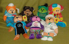 7 Beanie Kids (rare and retired) in mint condition with tags