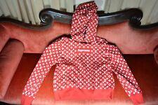 WORN ONCE LOUIS VUITTON SUPREME BOX LOGO MONOGRAM HOODIE Sweatshirt Red SZ Large