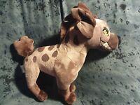 Janja The Hyena Stamped Plush The Lion Guard Villain RARE immaculate soft toy