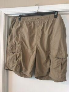 NEW Roundtree & Yorke Sz 2xb Swim Trunks Mens Cargo Shorts $52 Big Tall