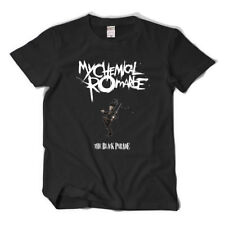 MCR BAND Rock Band My Chemical Romance Black Cotton T-shirt short sleeves summer