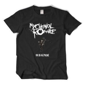 MCR BAND Rock Band My Chemical Romance Cosplay  T-shirt Cotton Summer Tee Black