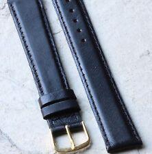 Long Length padded 18mm vintage watch band fine Norwegian Calfskin by Kreisler