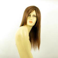 Parrucca donna castano chiaro mechato biondo dorato rame: heloise 6bt27b