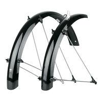 45mm Matte Black Bluemels Fender Set for Bicycle SKS Bike Fender