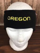 Oregon University Black Head Band Ear Muff Warmer Football Ducks Snowboard Ski