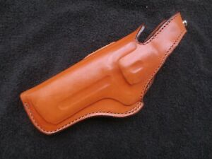 VINTAGE BIANCHI THUMBSNAP  #5BHL LEATHER HOLSTER FOR S&W REVOLVER