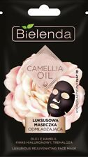 BIELENDA Camellia Oil luksusowa maseczka odmładzająca/ Rejuvenating sheet mask