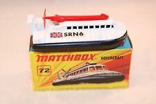 Matchbox  Superfast No 72 Hovercraft SRN6 perfect mint in box