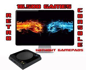 Retrostation 14k retro tv game console +16500 retro games   without gamepads