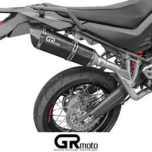 Exhaust for YAMAHA XT660X XT660R 2004 - 2016 GRmoto Muffler Carbon