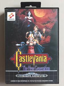 Castlevania: The New Generation, Sega Megadrive, PAL