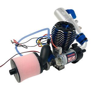 Traxxas Revo 3.3 Racing Engine EZ Start Air Filter Tuned Pipe Resonator New