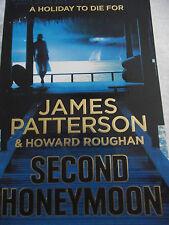 """ SECOND HONEYMOON ""  ~ James Patterson ~ LARGE PAPERBACK"