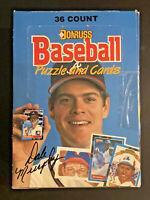 1988 Donruss Baseball Wax Box 36Packs 15 Cards New Unopened