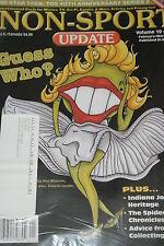 NSU Non Sport Update Magazine Guess Who Cover vol 19 #1 2008 Star Trek promos