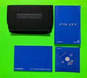 2017 Honda PILOT Factory Owners Manual Guide Set & Case *OEM*
