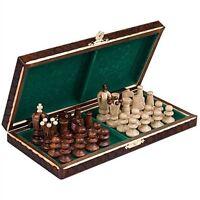 "Chess Set Royal 30 European Wooden Handmade International Chess Set, 11 3/4"""