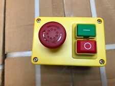 Woodturning Woodworking No Volt Release Switch NVR Stand Alone Switch with emerg