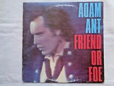 Adam Ant Friend Or Foe 1982 Epic ARE-38370 Terre Haute 1-D/1-D Press w/ Inner NM
