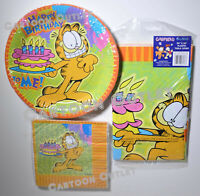 """GARFIELD TABLE CLOTH  PLASTIC TABLE COVER NEW 54/"""" X 96/"""" PARTY TABLE DECOR CAKE"""