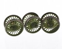 New Genuine Hornby Spares X6347 Tornado Driving Wheel & Axle Set In Green R3060