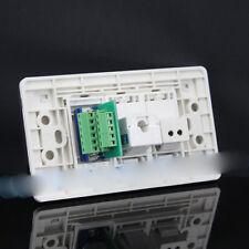 Wall Socket 3 Port Socket RJ11 & RJ45 & VGA Panel Faceplat 120mmx70mm