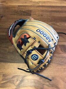 "Wilson A2000 1788 11.25"" I Web Baseball Glove Game Day Ready"